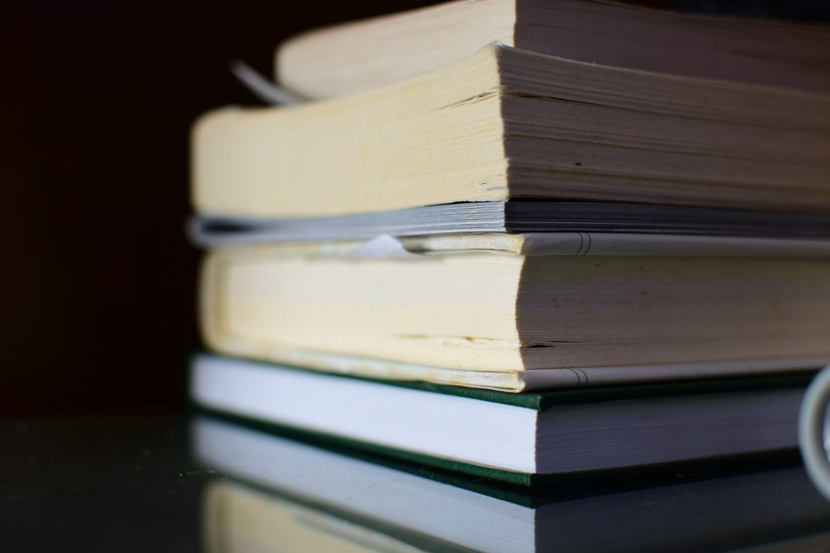 Stack of books - Photo by Mahendra Kumar on Unsplash